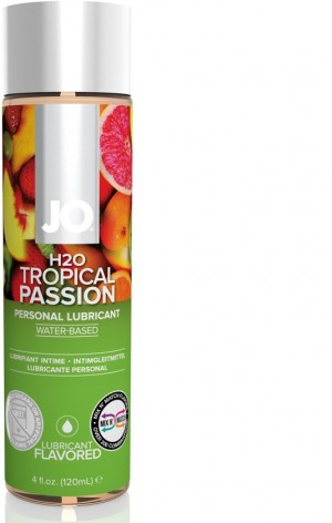 Jo H2O Tropical Passion Flavoured Lubricant 120ml