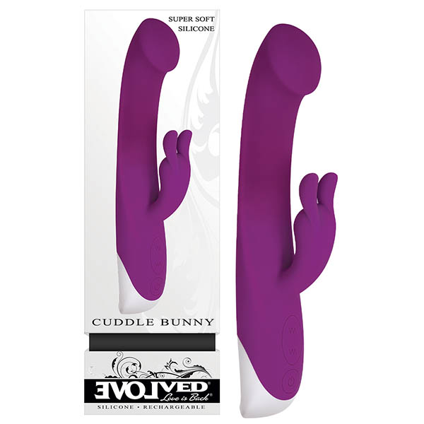 evolved-rechargeable-cuddle-bunny-vibrator-purple