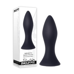 evolved-rechargeable-vibrating-mighty-mini-anal-plug-black