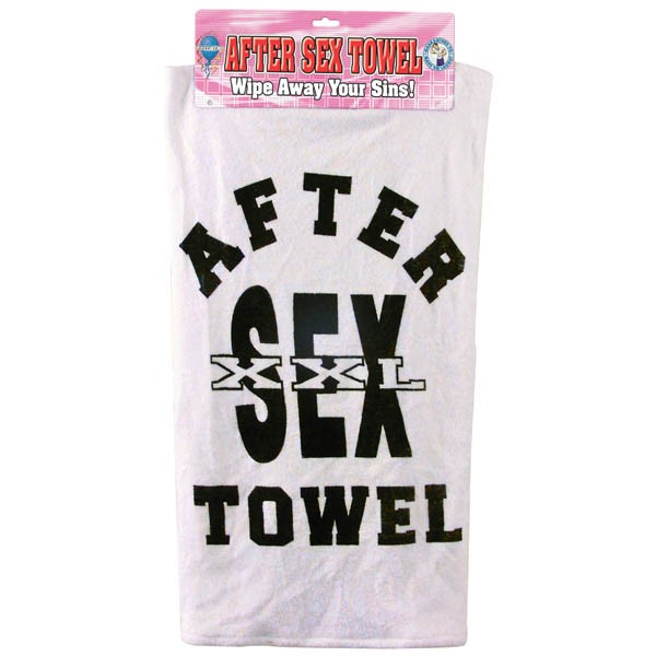 Pipedream's After Sex Towel