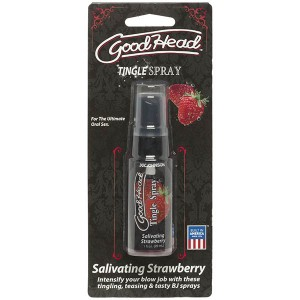 GoodHead-Salivating Strawberry Tingle Spray-29 ml