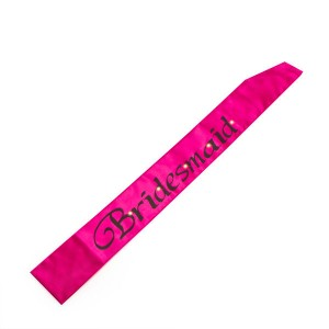 hot-pink-flashing-bridesmaid-sash