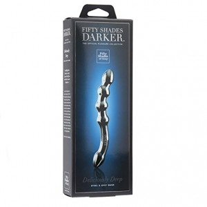 Fifty Shades Darker G Spot Steel Wand Deliciously Deep