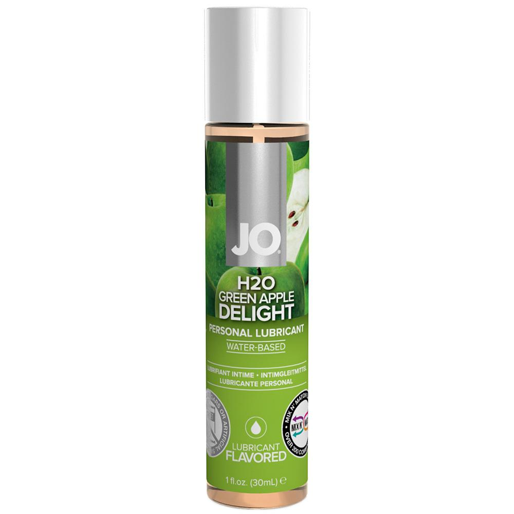 Jo H2O Green Apple Flavoured Lubricant 120ml
