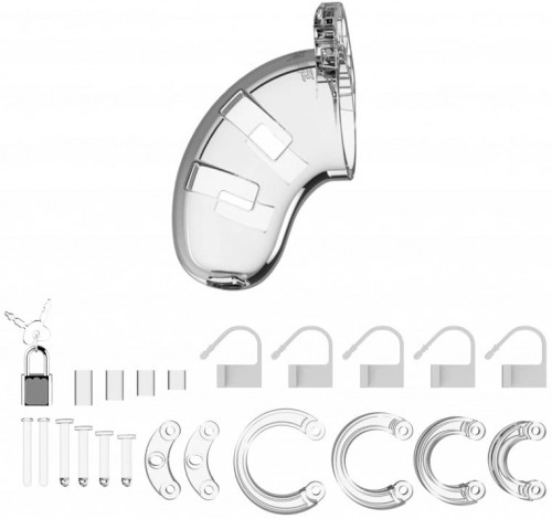 MANCAGE Model 01 - Chastity - 9cm - Clear