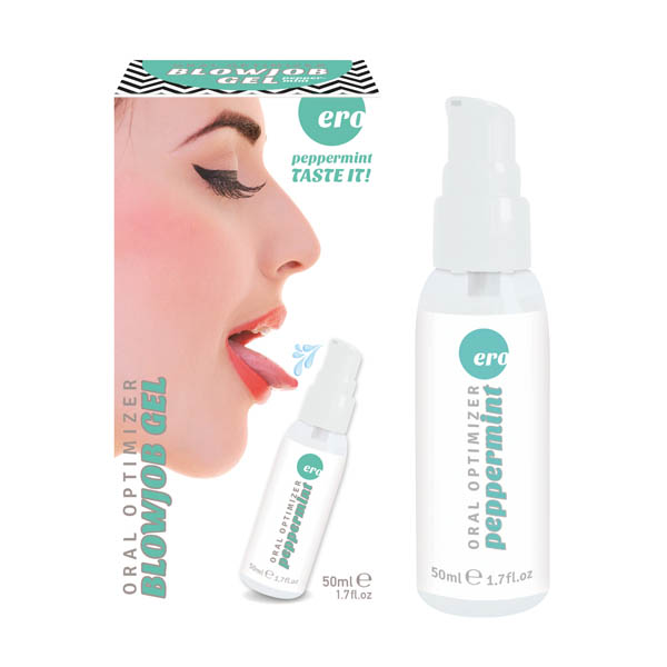 Ero Oral Optimizer Blowjob Gel-Peppermint Flavoured - 50 ml