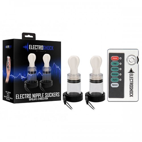 Electro Shock Nipple Twisters - Clear