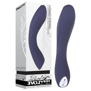 Evolved Coming Strong Vibrator - Navy