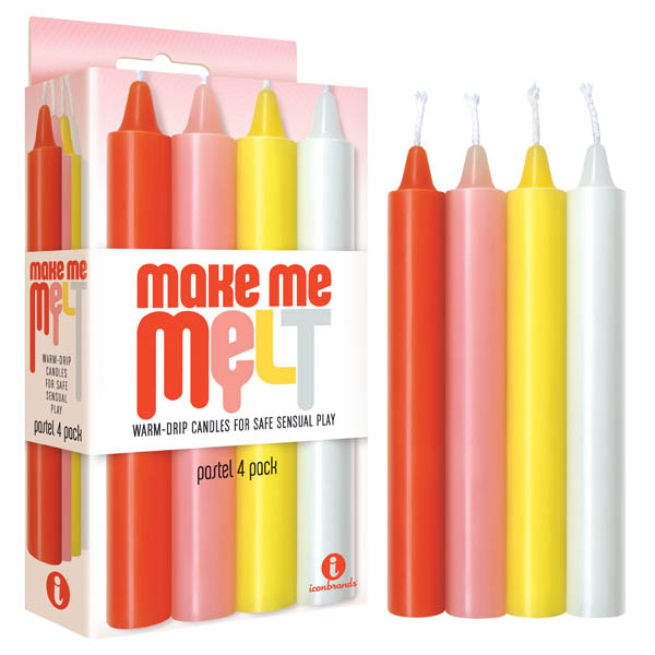 Make Me Melt Drip Candles 4pk