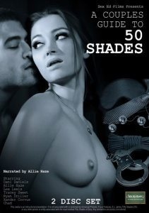 A Lovers Guide to 50 Shades 2 DVD SET - see also hand cuffs and sex toys for women - whips and restraints online.