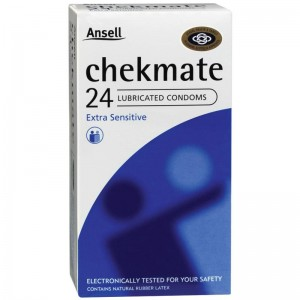 Ansell Chekmate Condoms Lubricated 12