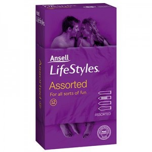 Ansell LifeStyles Assorted 12 Pack - the best colection of personal lubricants online all at the one great sex toy shop online.