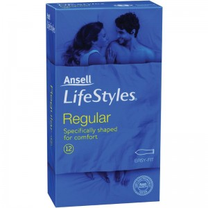 Ansell Lifestyles Condoms Regular 12 Pack - we have an awesome range of men's delay spray and adult toy cock rings for guys.