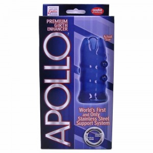 Apollo Premium Girth Enhancer Blue - see also a fabulous range of clitoral stimulants anderection gels for guys as well.