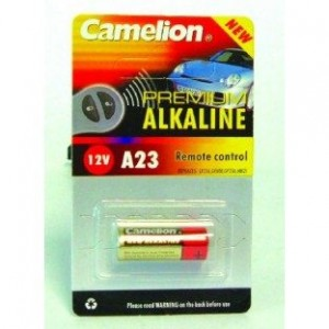 Camelion Alkaline 12V 23A  Battery Single Card