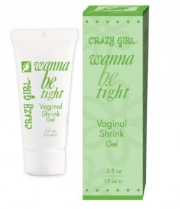 Crazy Girl Wanna Be Tight Vaginal Shrink Gel 5 oz