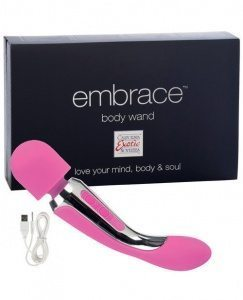 Embrace Body Wand Massager Pink