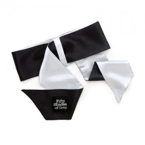 Fifty Shades Of Grey Soft Limit Wrist Tie - see also a great range of hand cuffs and nipple clamps for those who love fetish gear play times.