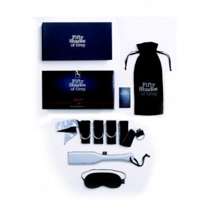 Fifty Shades of Grey Submit to Me Beginners Bondage Kit - see also sex toy kits for couples and vibrators for women.