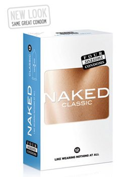 Four Seasons Naked Condoms 12PK