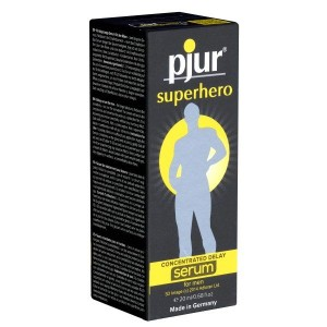 Pjur Superhero Concentrated Delay Serum - get all your sex toys and prostate wands at vrey low sex toy prices.