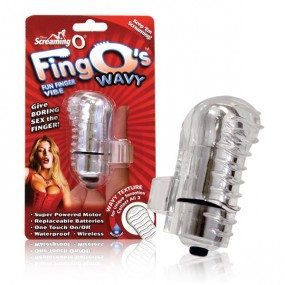 Screaming O The FingO Finger-Fitting Vibrating Mini Massager Glow