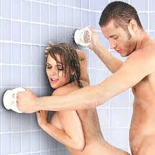 Sex in the Shower Single Locking Suction Handle