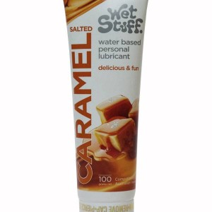 Wet Stuff Salted Caramel 100g Tube - get your lubes and sex toy cleaners at sale prices online - buy adult toys today.