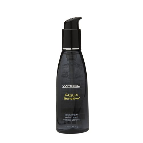 Wicked Sensual Care Aqua Sensitive Hypoallergenic Intimate Lubricant 4 oz