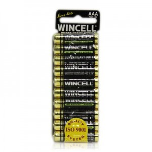 Wincell AAA Super Heavy Duty Batteries  AAA 10 Pack