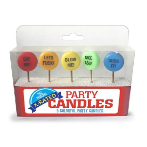 The Original X-Rated Party Candles