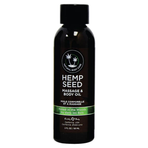 Hemp Seed Massage & Body Oil-White Tea & Ginger- 59 ml Bottle