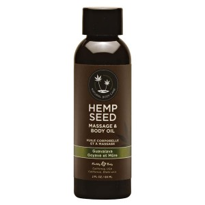Hemp Seed Massage & Body Oil - Guavalava 59ml