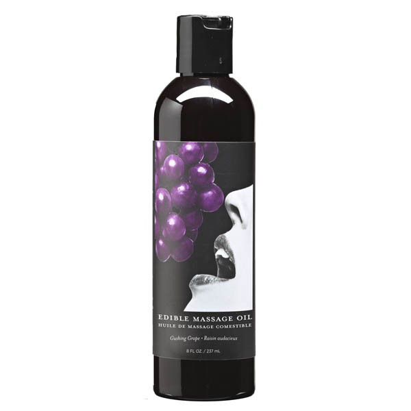 Edible Massage Oil - Grape 237ml