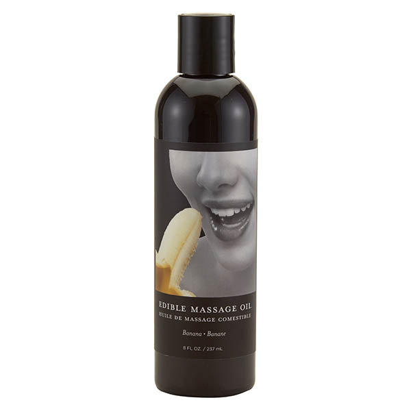 Edible Massage Oil - Banana 237ml