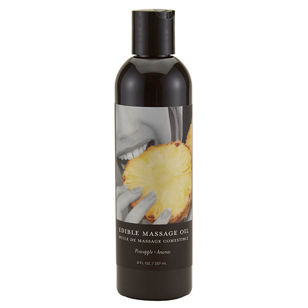 Edible Massage Oil - Pineapple 237ml