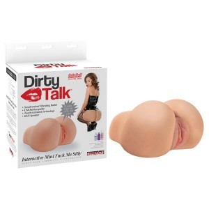 Pipedream Extreme Toyz Dirty Talk Interactive Mini Fuck Me Silly-Flesh