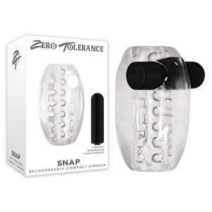 Zero Tolerance Snap Rechargeable Stroker clear